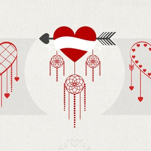 Valentine's Day Twist Brushes