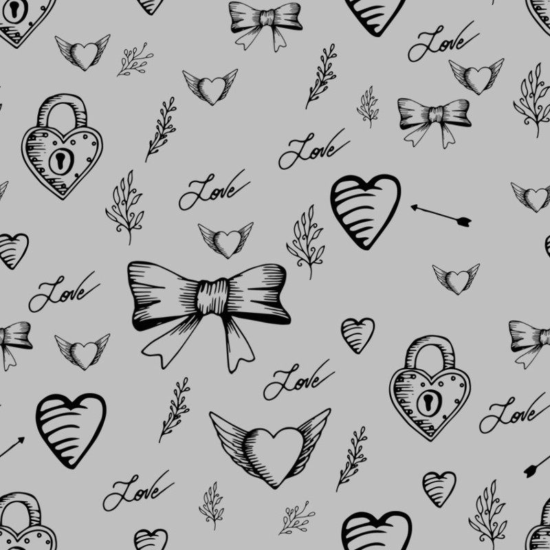 Photoshop brushes hearts
