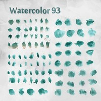 93 Free Watercolor Brushes