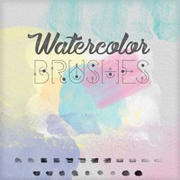 21 Free Watercolor Brushes