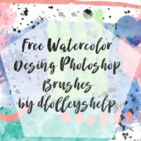 300 + Watercolor Brushes