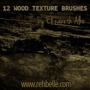 Photoshop brushes wood, texture
