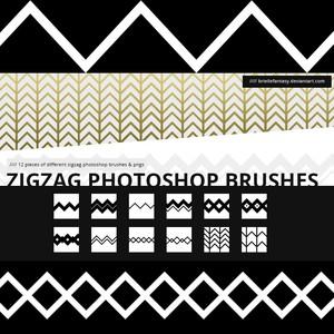 Zigzag Brushes