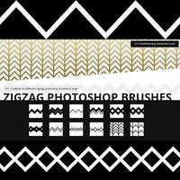 Zigzag Brushes