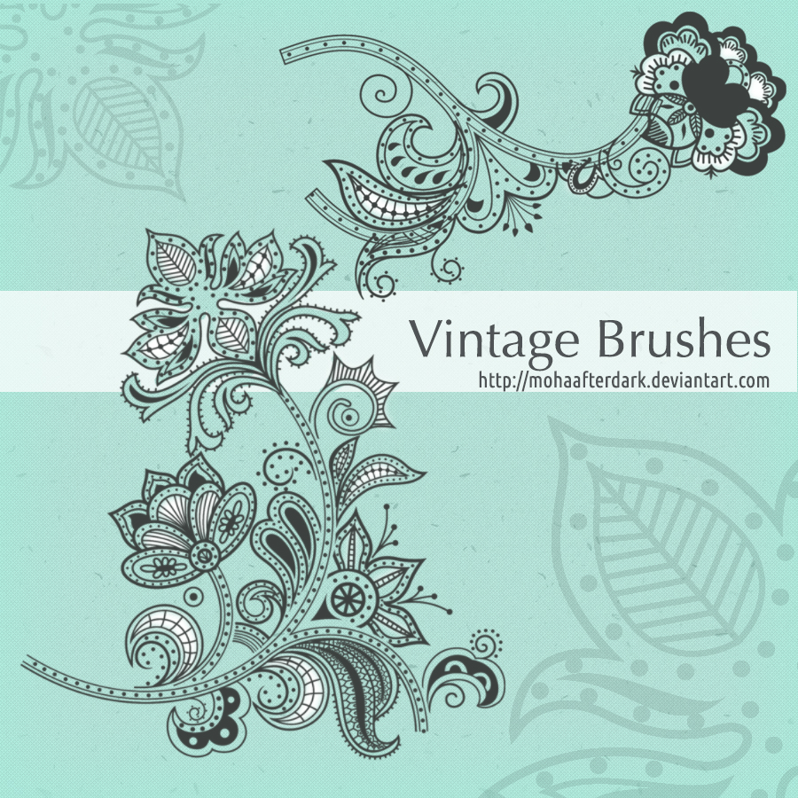 Free Vintage Photoshop Brushes