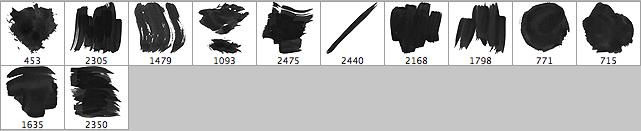 brushes palette