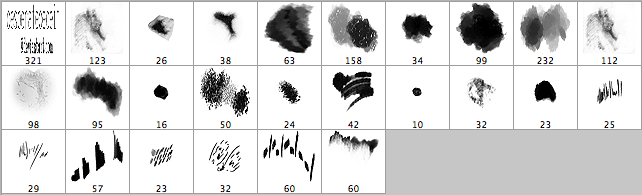 brushes palette