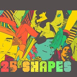 Photoshop custom shapes people, doodle