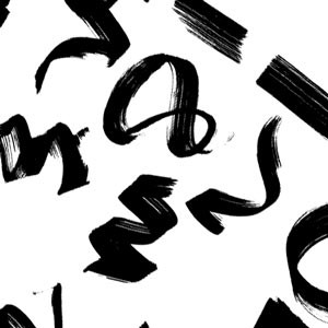 Photoshop custom shapes marker, stroke