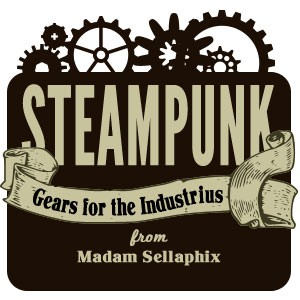 Photoshop custom shapes steampunk, gears