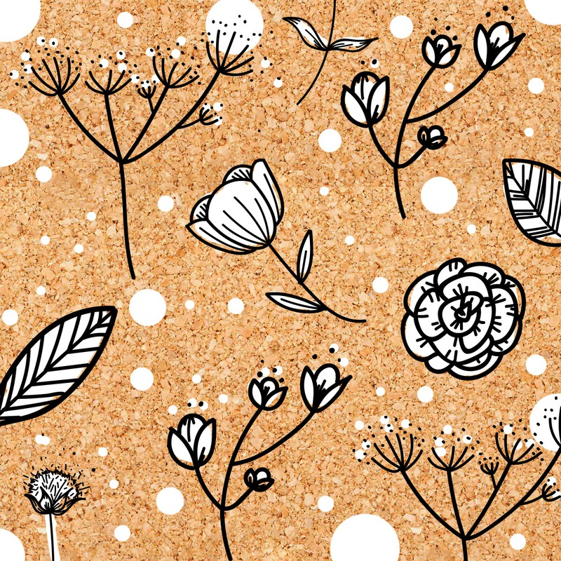 Photoshop custom shapes floral, flower, leaf