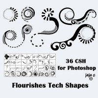 Flourishes Custom Shapes