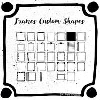 34 Free Frames Custom Shapes