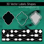 30 Label Shapes