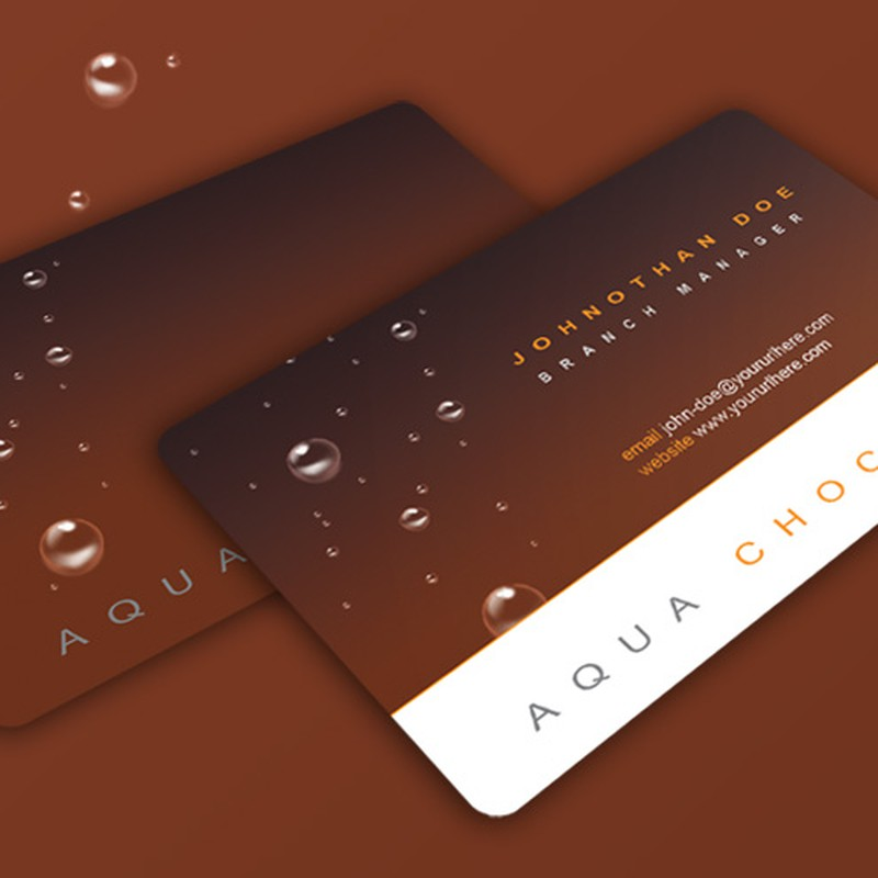 Photoshop psd business card