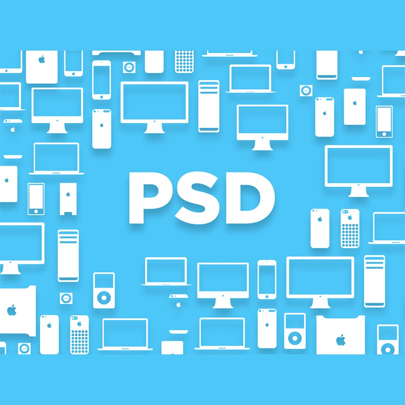 Photoshop psd devices icons