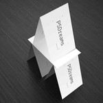 Pyramid of Business Cards