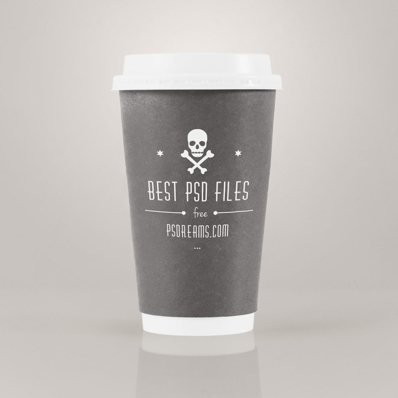 Photoshop psd mug, mockup, coffee