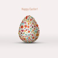 Free PSD Easter Egg Mockup