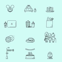 Free Entertainment Icons