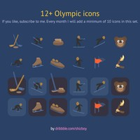 Free Winter Sport Icons