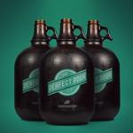 Free Bottle Mock-up
