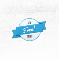 Free Badge PSD