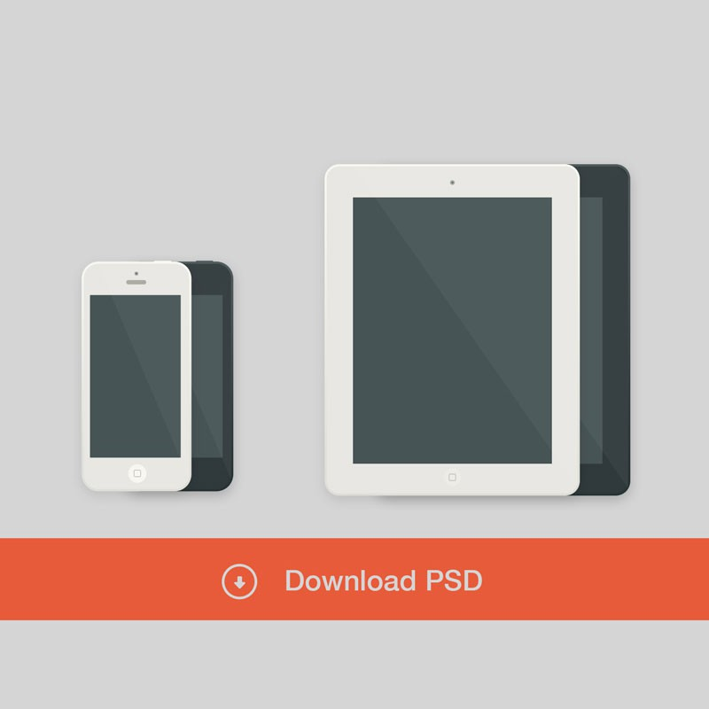 Photoshop psd iphone ipad