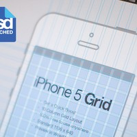 iPhone Grid PSD