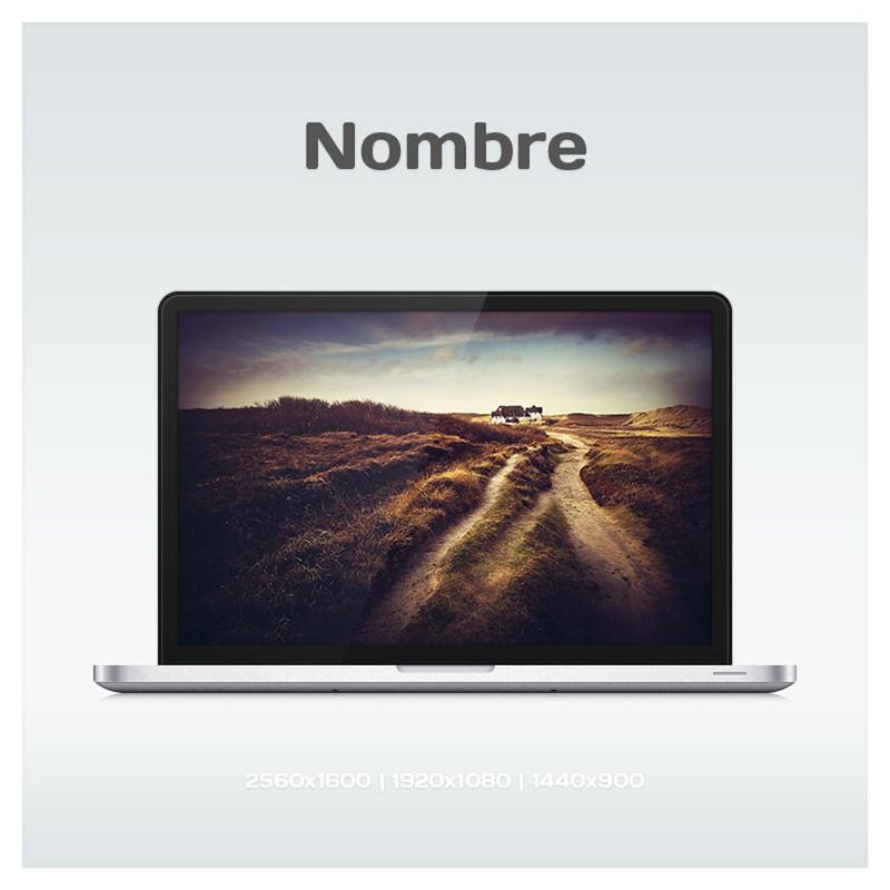Photoshop psd macbook