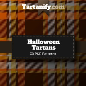 Halloween Tartan Patterns