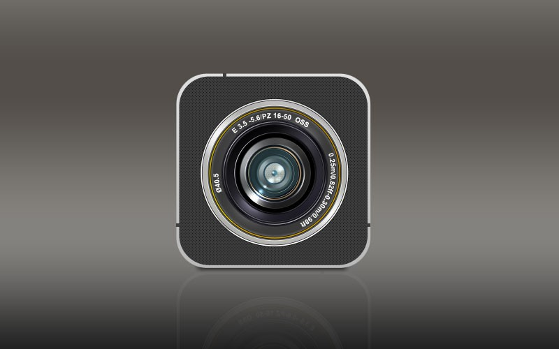 Photoshop psd camera,icon