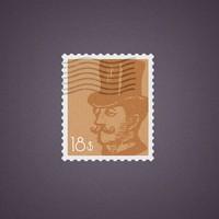 Free PSD Stamp