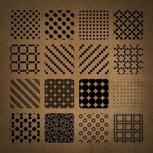 40 unique & free photoshop patterns.