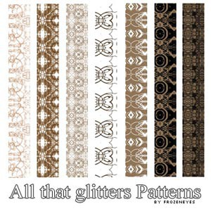 Photoshop patterns brown, ornament, patterns