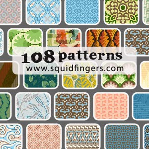 Photoshop patterns patterns, seamless, collection
