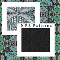 Nine Abstract Patterns