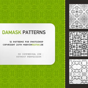 Photoshop patterns damask, patterns