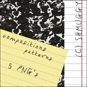 Photoshop patterns notebook, lines, pattern