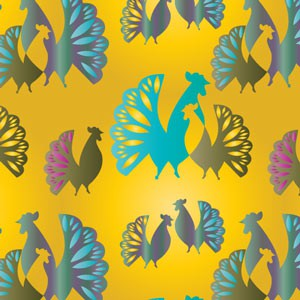 Photoshop patterns rooster, patterns