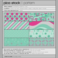 Tiffany Patterns by pica-stock
