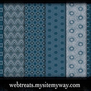 Photoshop patterns blue pattern