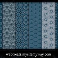 Midnight Blue Photoshop Patterns