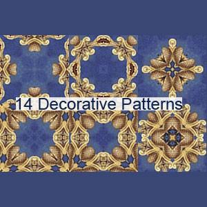Photoshop patterns patterns, decorative