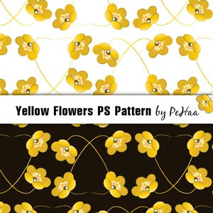 Yellow Flowers PS Pattern