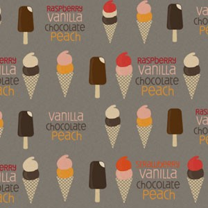 Ice Cream Photoshop Patterns