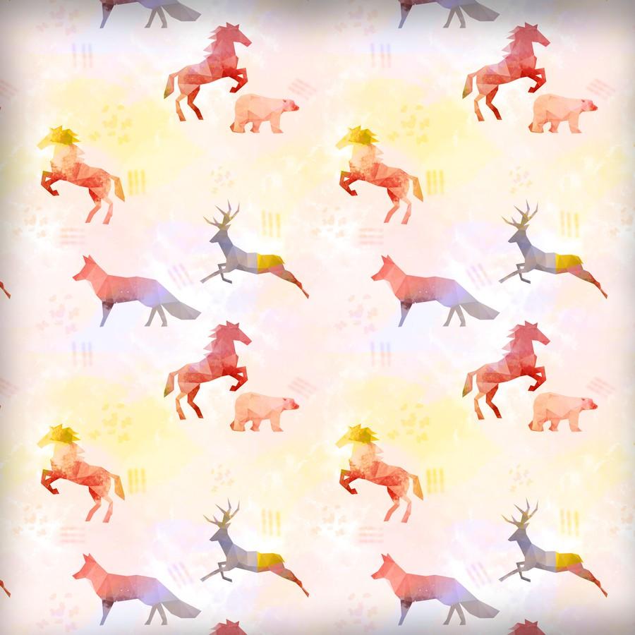 Photoshop patterns animal, geometric, seamless