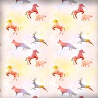Geometric Animals Patterns
