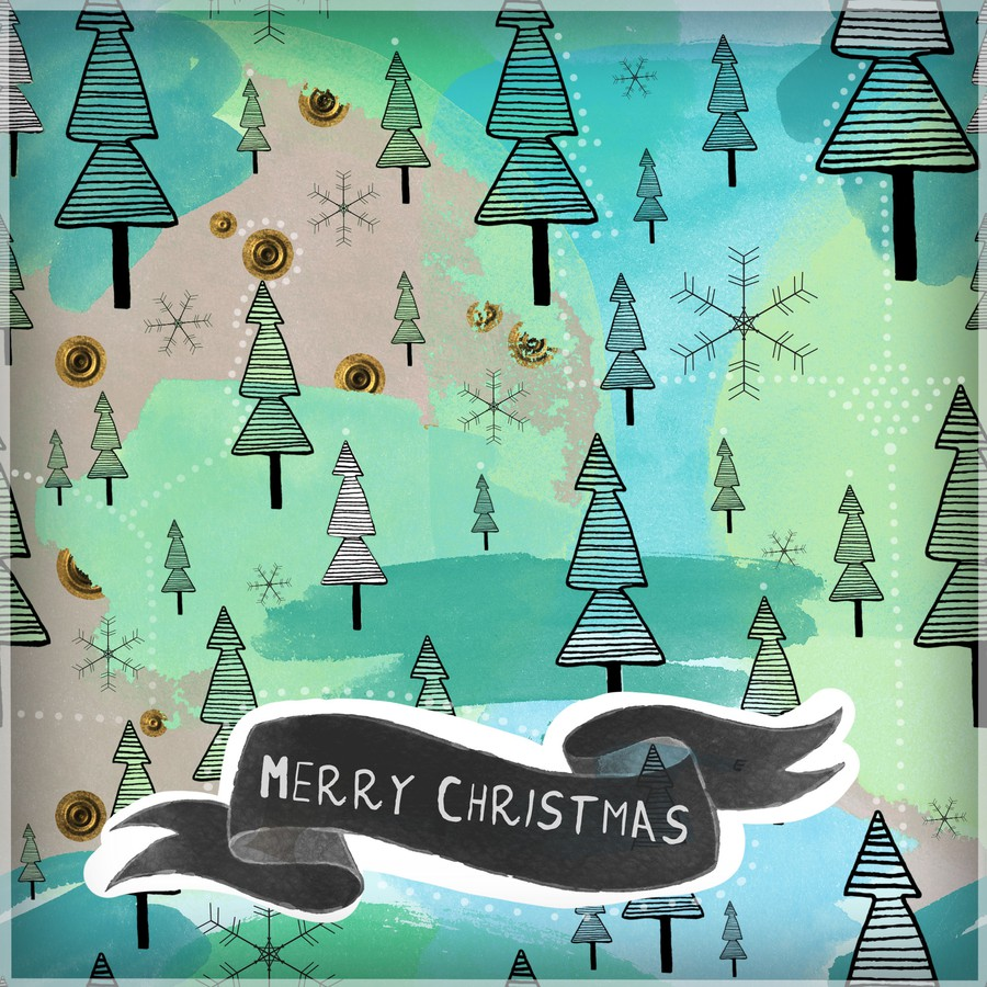 Photoshop patterns Christmas, pattern, doodle