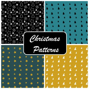 Free Christmas Photoshop Patterns